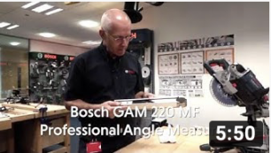 BOSCH GAM 220MF Professional Angle Measure
